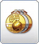 Медали рельефные